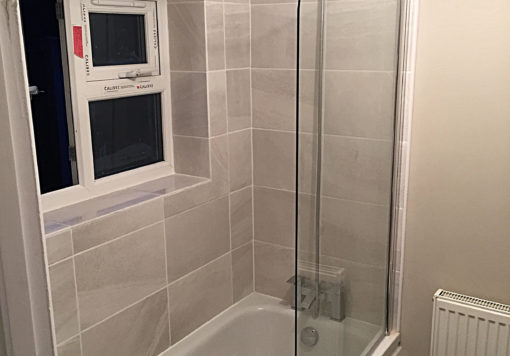 Bathroom at Pelham Road Norwich, after refurbishment
