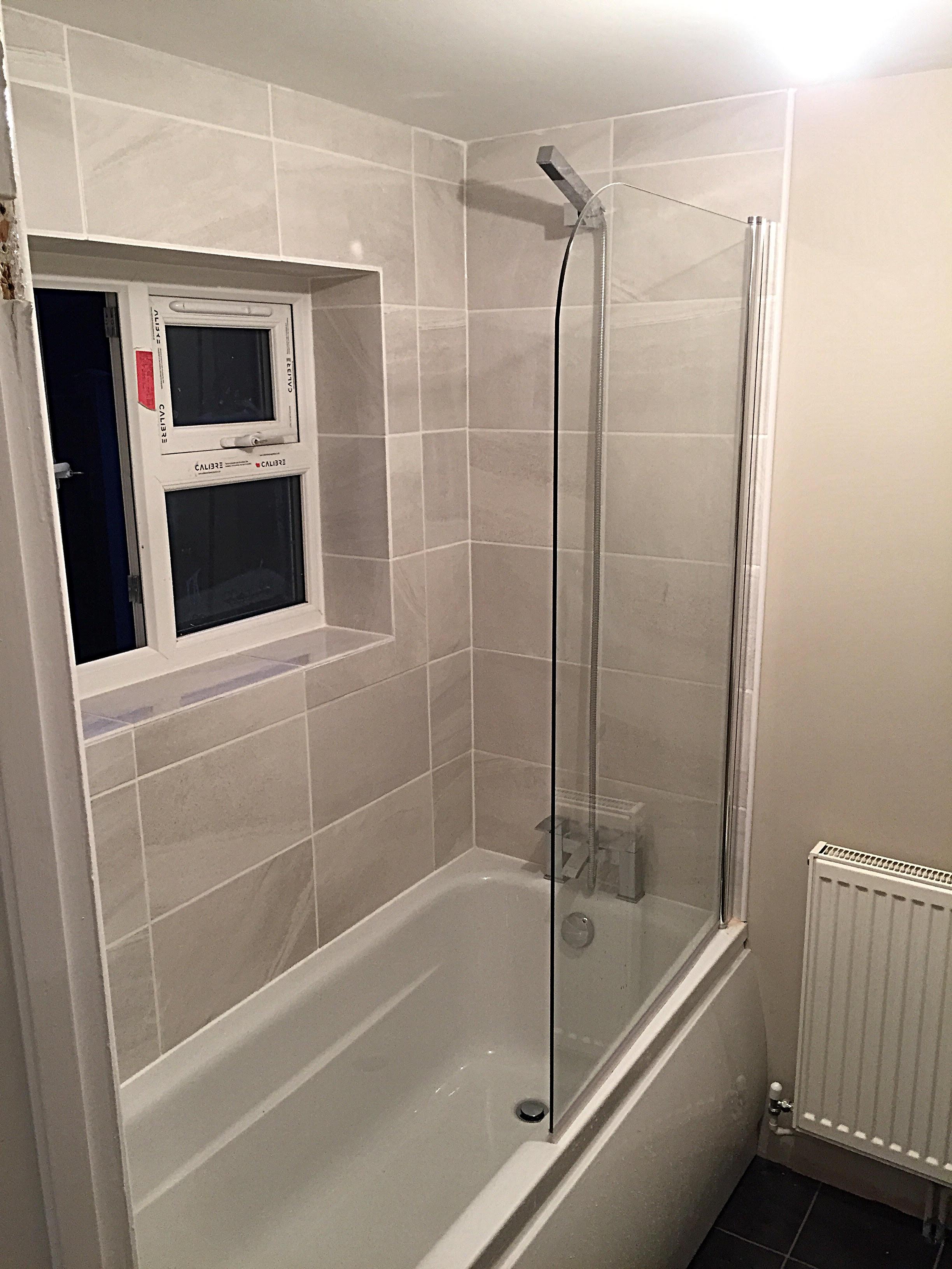 Bathroom at Pelham Road Norwich, after refurbishment
