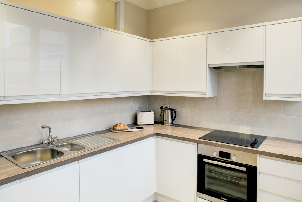 Kitchen at Sentinel House Norwich