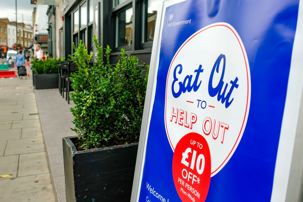Norwich's Eat Out to Help Out Scheme